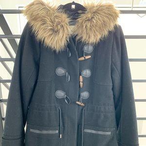 Abercrombie faux fur jacket